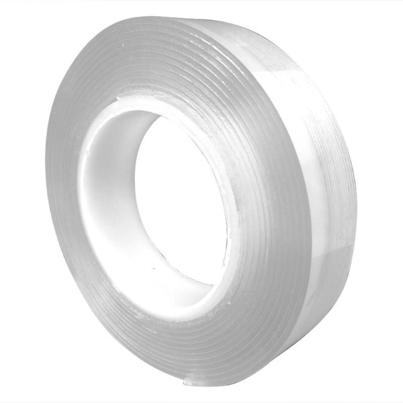 1 M Doppelseitiges Klebeband Nano Band Spurlose Waschbar Abnehmbare Bänder Küche Bad Wohnzimmer Tragbare Gel Grip Aufkleber