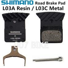 SHIMANO L02A L03A منصات 105 ULTEGRA R7070 R8070 R9170 L03A L04C زعانف تبريد الجليد Tech الفرامل وسادة الطريق BR RS505 RS805 الفرامل