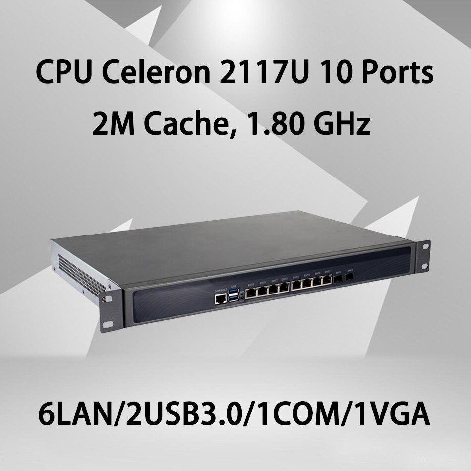 Firewall Mikrotik Pfsense VPN Network Security Appliance Router PC Intel Celeron 2117U,[HUNSN RS07],(6Lan/2USB3.0/1COM/1VGA)Firewall Mikrotik Pfsense VPN Network Security Appliance Router PC Intel Celeron 2117U,[HUNSN RS07],(6Lan/2USB3.0/1COM/1VGA)