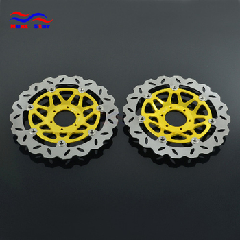 Motorcycle 260mm Floating Disc Left Right Brake Discs For HONDA CB400 Four NC36 CB400SF SuperFour CB400SF CB600F CBR750 RC27