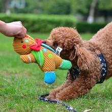 Dog Chew Toys Pet Squeaker Sound for Animals Puppy Training Interactive Plush Resistant doll Products