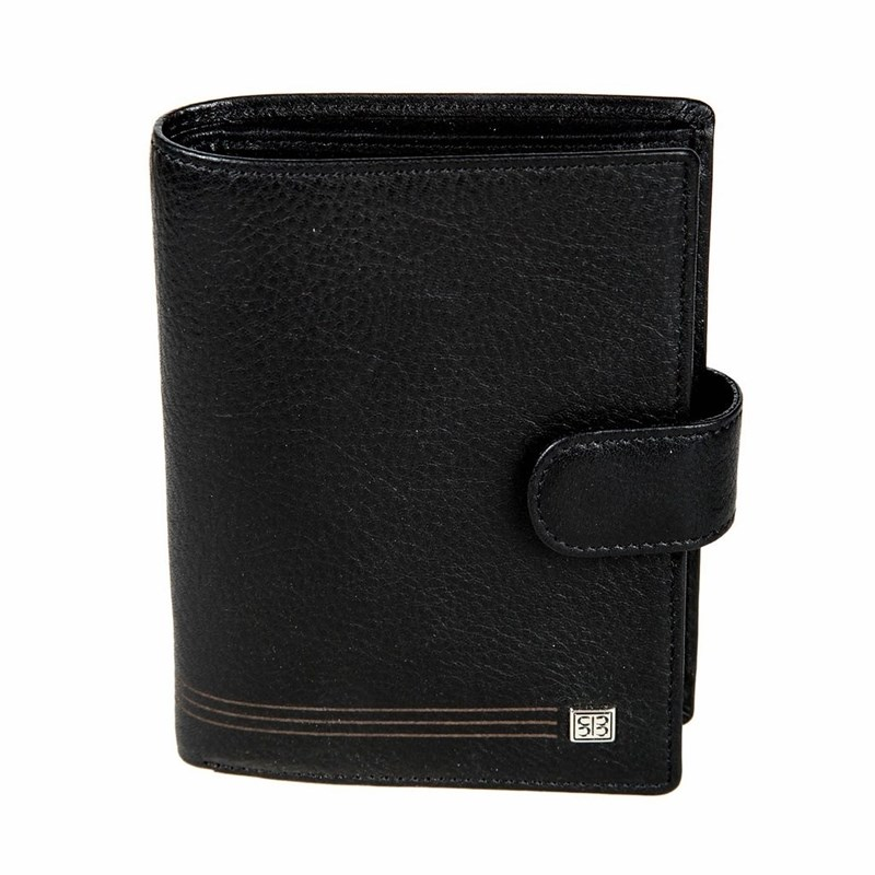Wallets SergioBelotti 2103 west black