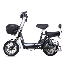 Electric Bicycle 48v12ah Lithium Battery Rang 60km New Ladies Pedal Bike Pure