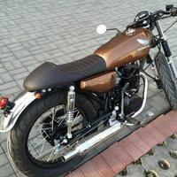 Motorcycle Retro Seat Hump Cafe Racer Seat Vintage Saddle Scramble Flat Pan For Honda CG125 CB350 CB400 CB500 CB750 SR400 XJ XS