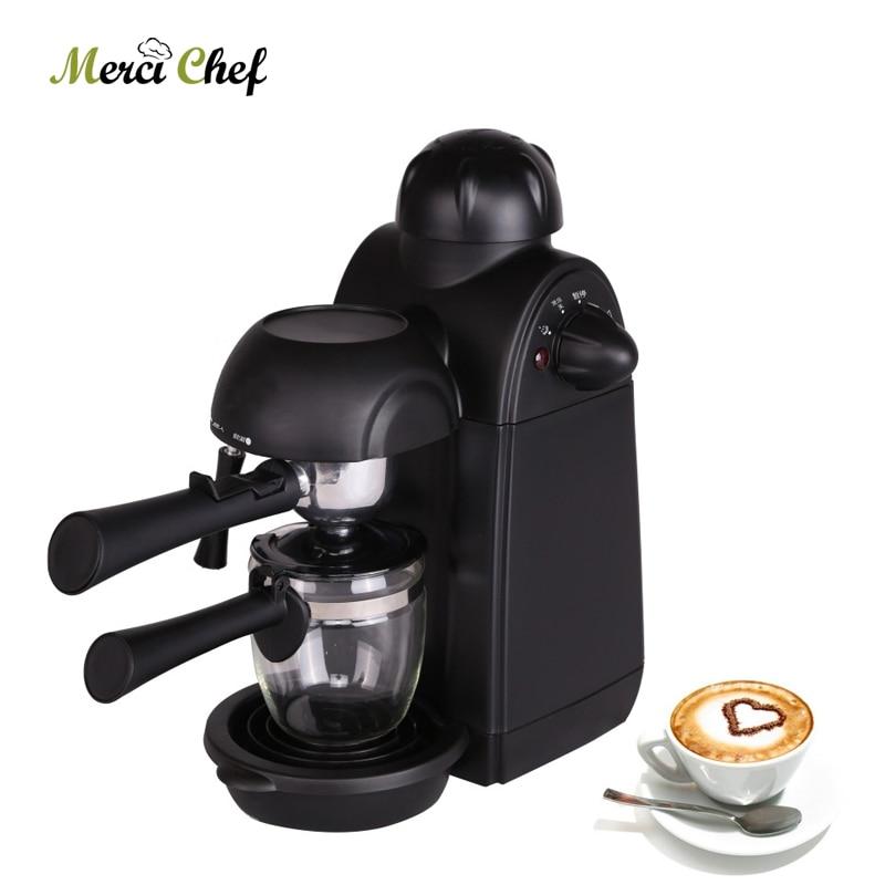 ITOP 5Bars Household Coffee Machine Espresso Maker For Milk Bubble Italian Pressure