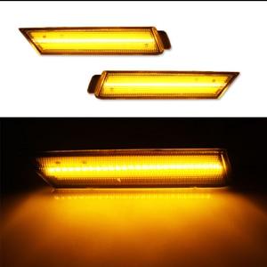 Image 5 - IJDM marqueur frontal, feux pour Chevy Camaro, 12V ambre, LH RH, alimenté par 26 lumières de SMD LED, 2010, 2015