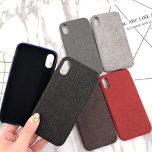 Cloth Patterned Case For iPhone XS Max XS XR X 8 Plus Warm Fuzzy Cloth Phone Back Case Cover For iphone 7 8 plus 6 6S plus Funda стоимость