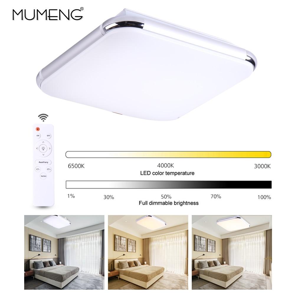 LED Simple Starlight plafonnier pour chambre salon & hôtel plafonnier 3000-6500 K, dimmable, couleur réglable