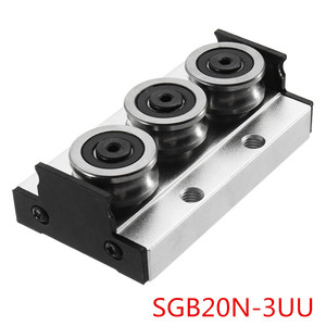 Image 5 - SGR20N 500L With SGB20N 3UU SGB20N 5UU Slide Block Built in Dual A xis Roller Linear Guide For Engraving CNC Machine New