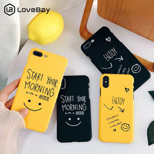 Lovebay Cartoon Smile Face Love Heart Pattern Phone Case For