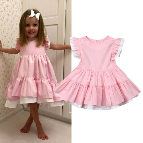 PUDCOCO Tutu-Dress Pageant-Gown Princess Party Baby-Girls Kids Summer