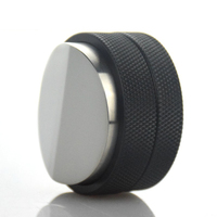58mm Espresso Powder Distributor With Three Angled Slopes Base Coffee Tamper Hot