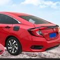 Спойлер для Honda Civic 10th 2016 2017  АБС-пластик  Неокрашенный задний спойлер на крыло  крышу  багажник  крышка для ботинок  Стайлинг автомобиля