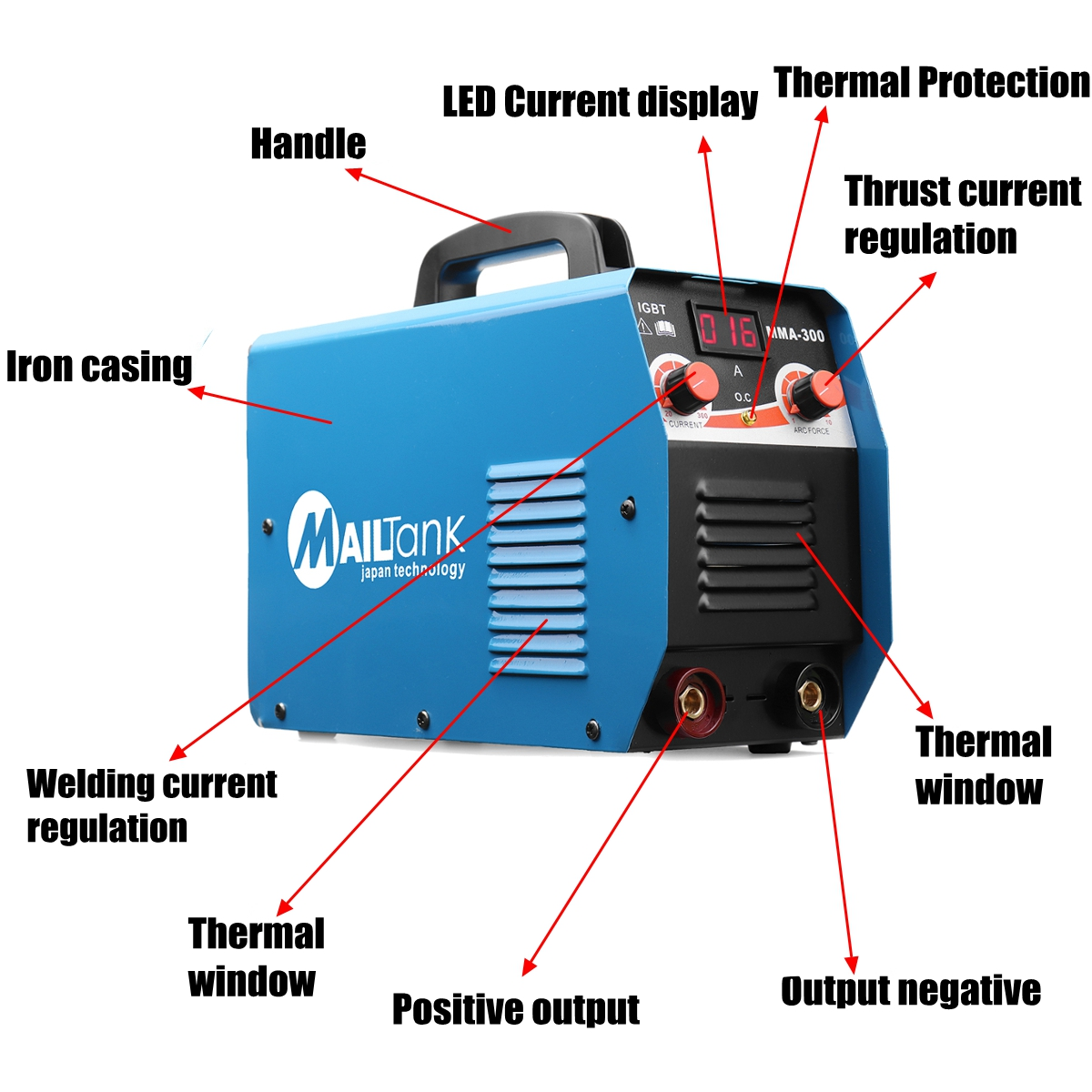 Portable Mma 300g Mini Welding Dc Machine 220v 25a 300a Semi Diagram Automatic Inverter Lcd Soldering Tool Working In Arc Welders From Tools On