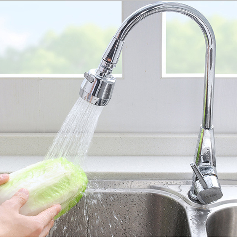 Permalink to Faucet Extension Bubbler Rotate Shower Head Lengthen Tap Water Filter Home Kitchen Bathroom Sink Accessories D