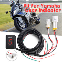 6 Speed Lever Motorcycle Gear Indicator Gear Moto Speed Digital Meter Universal for Yamaha YZF R1 YZF R6 Xt660 Fz6 Fz 16 Fz1 Fz8