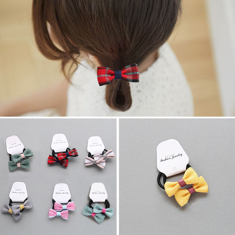 Beautiful High Quality 9 Colors Hot Sale Korean Cloth Butterfly Flower Hair Band Drop Shipping 1PC New Children Girls Gifts