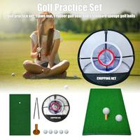 Foldable Golf Cutting Net Realistic Fairway Lawn Golf Target Accessories Training Auxiliary Equipment Indoor Practice Swing
