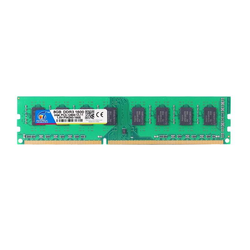VEINEDA Ram ddr3 memoria ddr3 16 gb 2X8 gb dimm ddr3 1333 Pour Intel AMD De Bureau PC3-12800 ddr3 1600 240pin