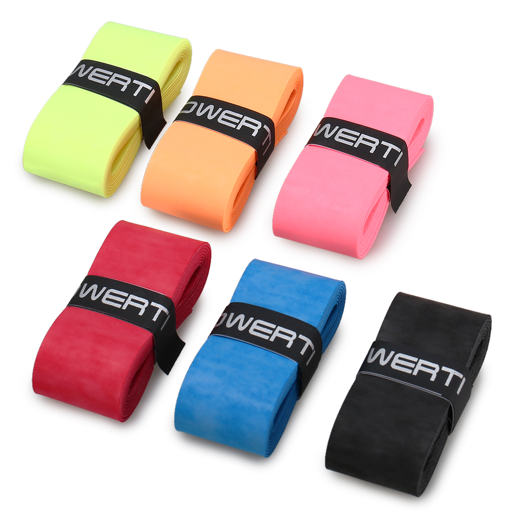 6Pcs Mixed Color Tennis Racket Grips Anti-skid Badminton Racquet Grips Vibration Overgrips Sweatband Anti-skid Sweat Tape6Pcs Mixed Color Tennis Racket Grips Anti-skid Badminton Racquet Grips Vibration Overgrips Sweatband Anti-skid Sweat Tape