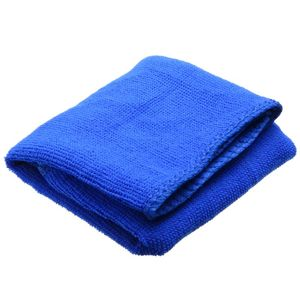 Image 5 - 10Pcs Blue Car Soft Microfiber Cleaning Towel Absorbent Washing Cloth Square for Home Kitchen Bathroom Towels Auto Care 30x30cm