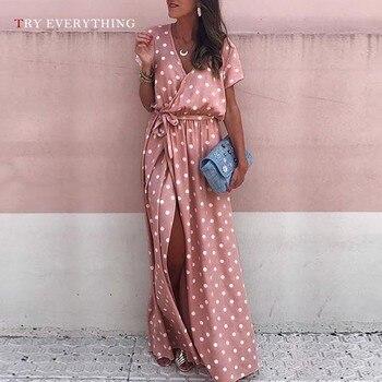4f58ca58415 Розовое пляжное платье макси