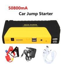 50800 mAh 12 V LED double USB voiture saut démarreur Booster Portable batterie externe chargeur de secours multifonction d'urgence voiture saut démarreur