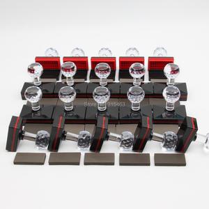 Image 3 - 20 stks Rechthoek 30x60mm + 35x55mm + 20x50mm + 25 x 50mm + 7mm Rubber Pad Flash Stempel Shell Lichtgevoelige Materiaal Zelfinktende Stempelen