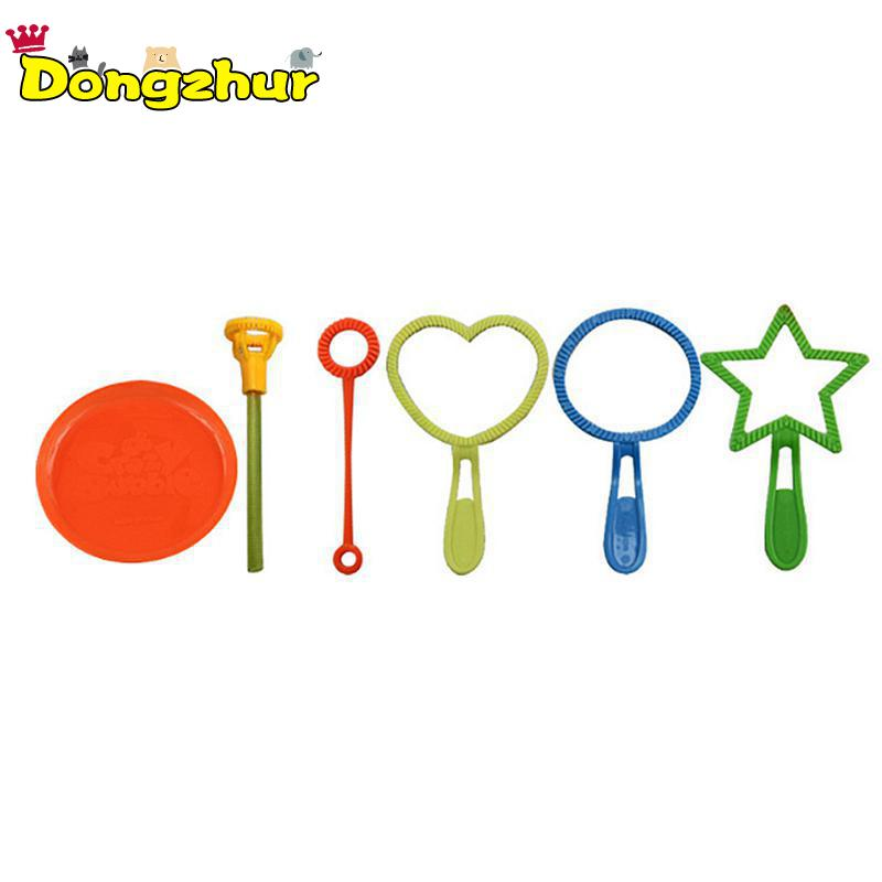 Bubbles Dongzhur 6pcs/pack Blowing Bubble Soap Tools Toy Bubble Sticks Set Outdoor Bubble Toys For Children Kids Gift Yyw003 High Quality Goods