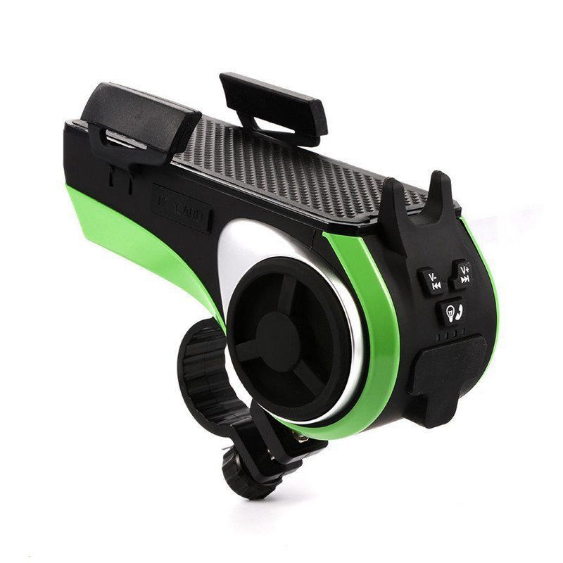 ROCKBROS 5 In 1 Double LED Bicycle Light+Bluetooth Audio MP3 Player