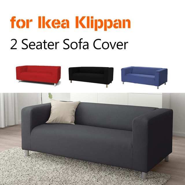 Loveseat Sofa Covers for Living Room Solid Sectional Sofa Cover ...