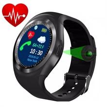 Купить с кэшбэком KESHUYOU Sport smart watch men  Heart Rate monitor  Passometer  relogio smartwatch TS1 Support SIM TF Card for android phone