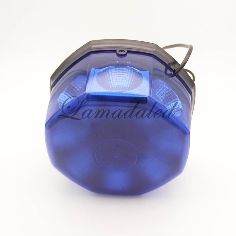 Image 4 - 12V24V super bright blue 40W police led strobe lights beacon with magnetic for ambulance fire truck stroboscope warning lamp-in Car Light Assembly from Automobiles & Motorcycles