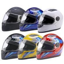 Мотоциклетный шлем полный шлем Мужской Электрический автомобильный шлем женский зимний теплый полноохватный аккумулятор автомобиль анти-туман шлем