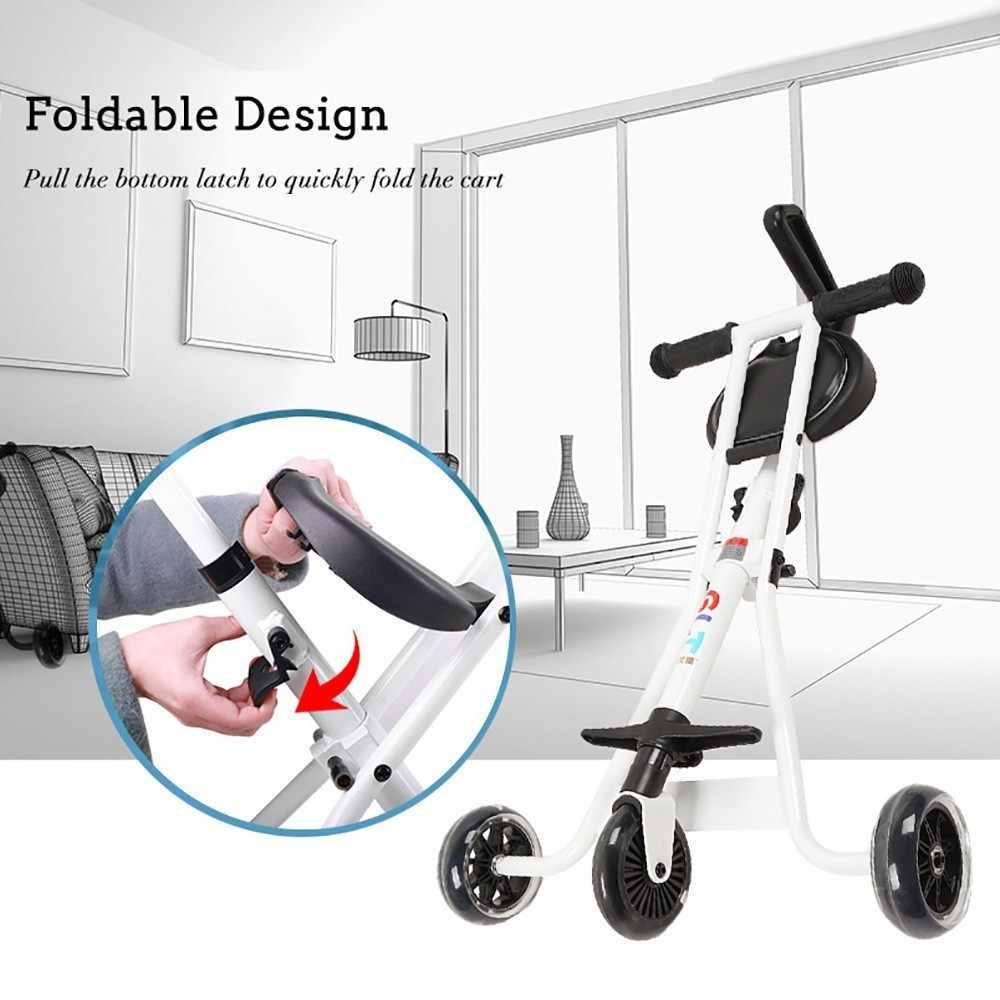 Baby Buggy Mercedes Portable Folding Baby Tricycle Stroller Lightweight Three