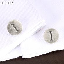 Лептон буквы алфавита i запонки для мужчин классические античные