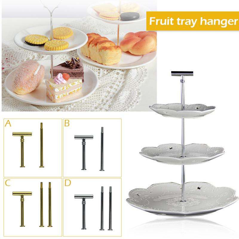 cbc4dbbc6a Hot Sale] 3 Tier Plastic Cake Stand Birthday Party Decor Afternoon ...