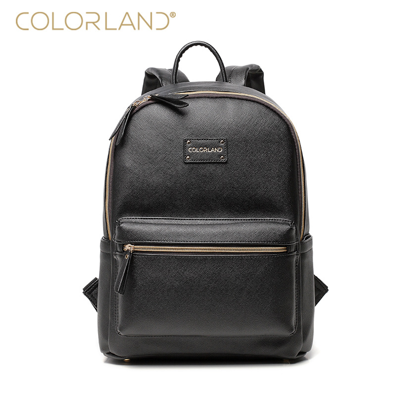2019 New Fashion Mommy Bags Mummy Diaper Bags Backpacks PU Material Waterproof and Durable Commuter Bag