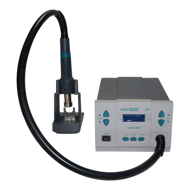 Hot Air Desoldering Station 861DW Digital Display Lead free Intelligent Temperature Control Rework Station 1000W