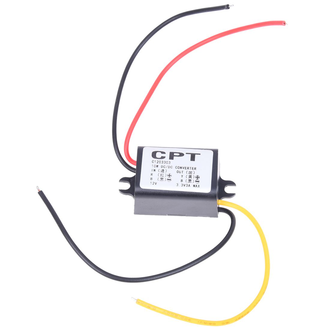 12V to 3 3V DC DC Buck Converter Step Down Module Power Supply Voltage Regulator