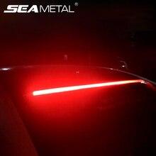 Светодиодный лента для автомобиля с высоким тормозом, светодиодный Предупреждение льные, гибкая Защитная лампа 90 см, автомобильная задняя стоп-лампа