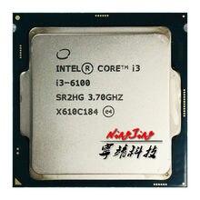 Intel Core i3-6100 i3 6100 3,7 GHz Dual-Core Quad-Gewinde 51W CPU Prozessor LGA 1151