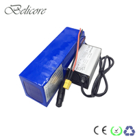Высокое качество 1000 Вт 48 В 14ah литиевая батарея для электровелосипеда пакет с зарядным устройством использовать sanyo 18650 GA мощные ячейки