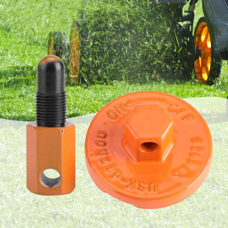 1pcs Chainsaw Clutch Removal Tools Practical Piston Stop Tool Universal Piston Stop Plug Clutch Flywheel For Garden Tool Orange