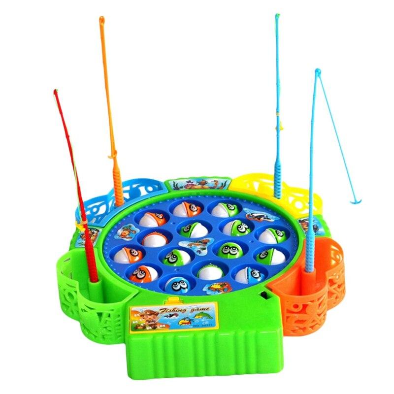 Betrouwbaar Baby Educatief Speelgoed Vis Muzikale Magnetische Vissen Speelgoed Set Fish Game Educatief Vissen Speelgoed Kind Verjaardagscadeau Op Reis
