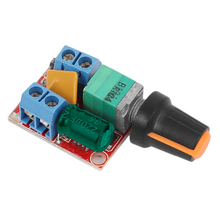 DC Motor Speed Control Driver Board 3V-35V 5A PWM Controller Stepless DC 3V 6V 12V 24V 35V Variable Voltage Regulator Dim