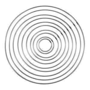 10 шт. Ловец снов, материал Ловец снов, металлические кольца, обручи для плетения ручной работы, аксессуары для инструментов