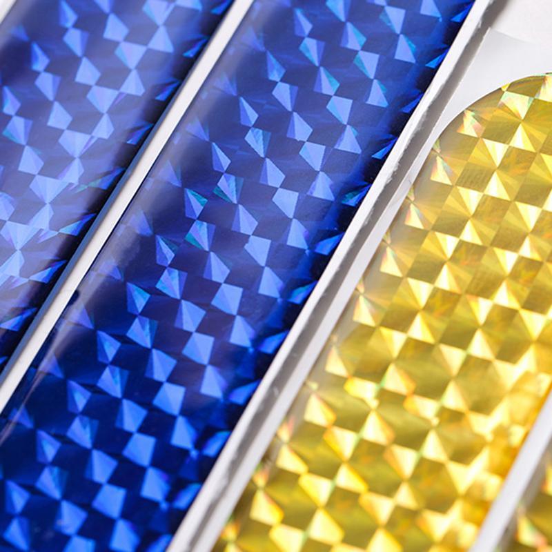 2 шт. двери автомобиля Светоотражающая наклейка Предупреждение ющая лента автомобильные отражающие наклейки светоотражающие полосы 4 цвета знак безопасности автомобиля-Стайлинг
