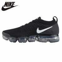 purchase cheap 285b2 e120c NIKE VAPORMAX FLYKNIT Original New Arrival Men Running Shoes Sports  Breathable Outdoor Sneakers #942842-001