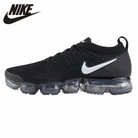 NIKE VAPORMAX FLYKNIT Original New Arrival Men Running Shoes Sports Breathable Outdoor Sneakers #942842 001